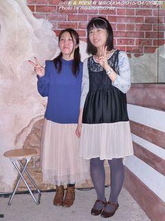 裕里菜 & 山谷結(#590)
