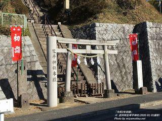 「令和2年初詣」(武州柿生琴平神社)