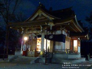 武州柿生 琴平神社(2015)(#5)